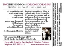 2018 'Wiley' Carbonic Carignan